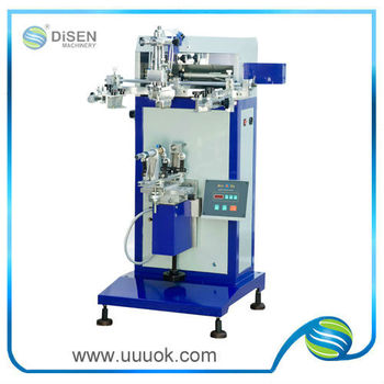 High precision bottle screen printing machine