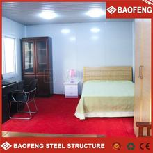 heat insulated mobile living construction site cabins container office portable