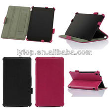 Litchi Wallet Case for Google Nexus 7 2nd With Holder