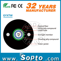 Metal Strength Member GYXTW Fiber Optic
