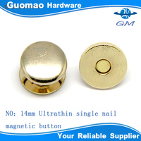 2014 wholesale dome magnetic metal trouser buttons