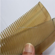 promotion items personalized pocket comb ox Horn hair comb