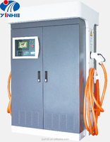 US local workable CHAdeMO and SAE J1772 standardized EV charger with 2 connectors