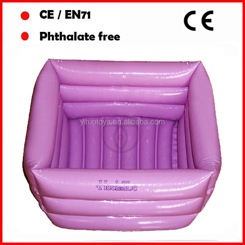 PVC inflatable foot bath / foot spa with logo for promtion
