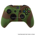 Mix Color Green Brown Cover Case For Xbox One Wireless Silicon Controller