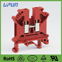 shanghai manufacture supplier electrical industrial connections screw terminal blocks UKJ-6E