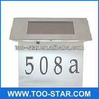 Automatic Led Light Solar House Numbers