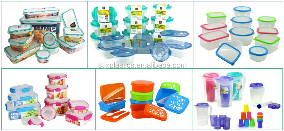 Hot sell newest useful 17pcs bpa free plastic food container set
