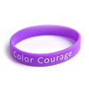 Custom Fashion promotional Sport Silicone Wristband bracelet