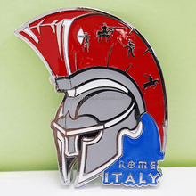 Can Customize Your Own Metal Craft Italy Knight Fridge Sticker