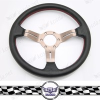Car decoration accessories,leather polishing Steering wheel 3 spoke