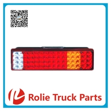 ZD030 universal trailer& truck auto spare parts rear led tail lamp led rear light 24V led quantity 64
