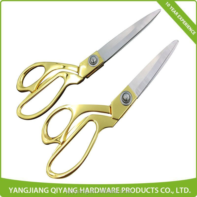 Professional Tailor scissors with Gold-plated Handle