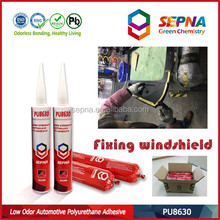 Polyurethane main raw material adhesive sealant for car windows/windshield bonding