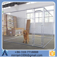 Large outdoor strong hot sale strong easy assemble dog kennel/pet house/dog cage/run/carrier