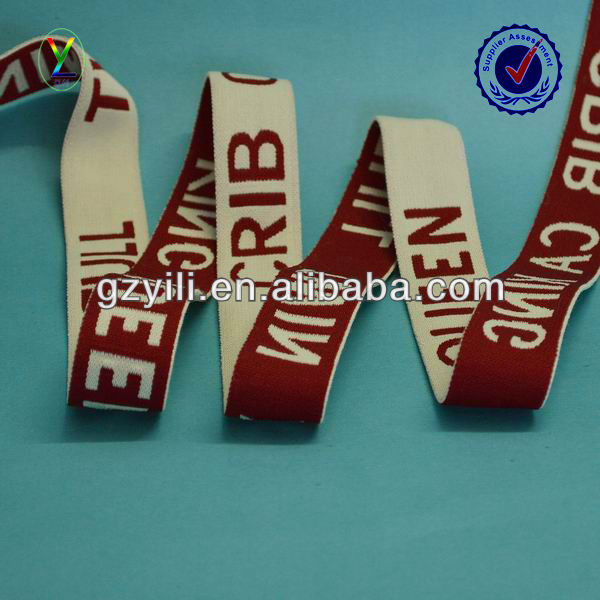 Custom Underwear Embroidered Elastic Bands