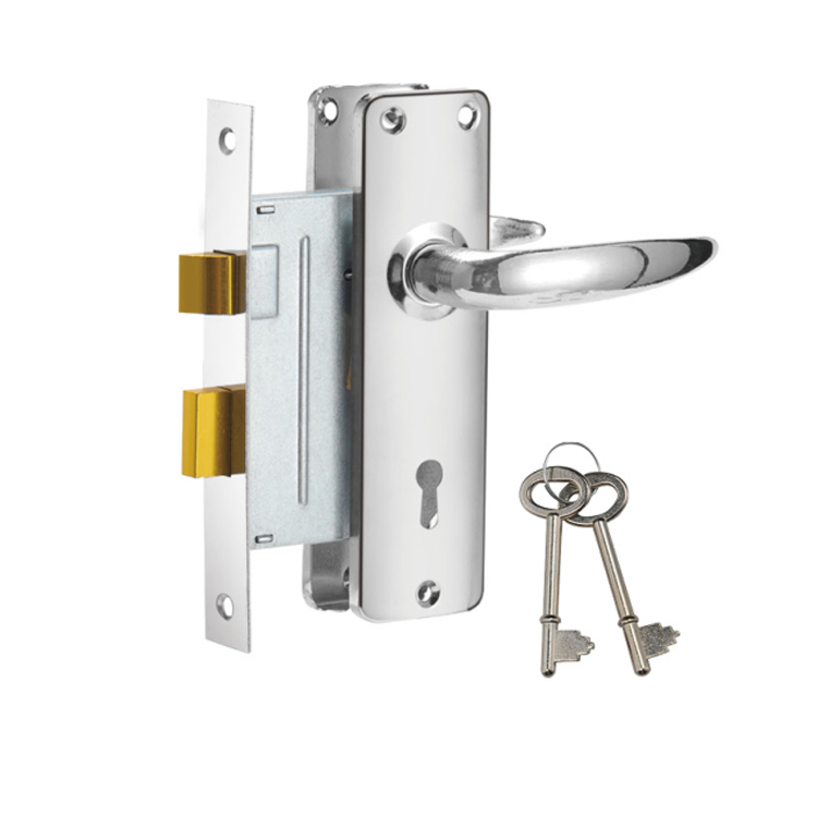 2017 new mortise lock set for africa910-3495-CP