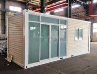 Exterior Cladded Modular 20ft Container House For Living Home