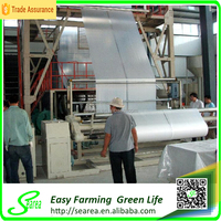 Black and white PE biodegradable mulch film for agriculture greenhouse
