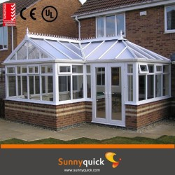 CE standrad best selas veranda sun rooms with tempered glass