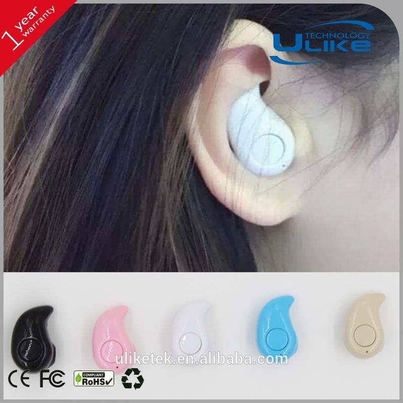 single bluetooth earphone usb connectors,stylish smallest bluetooth headset