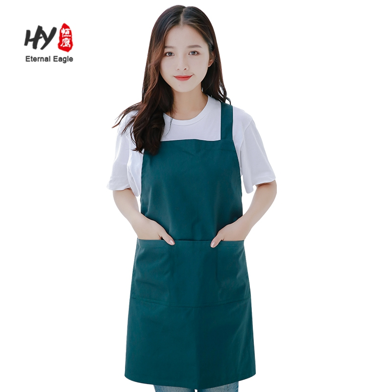 The cheap 100% cotton quality printed work apron