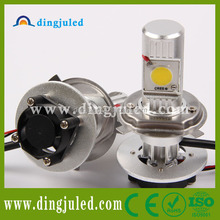 good price 2014 12v cree led car made in dingju headlight high power h4 led