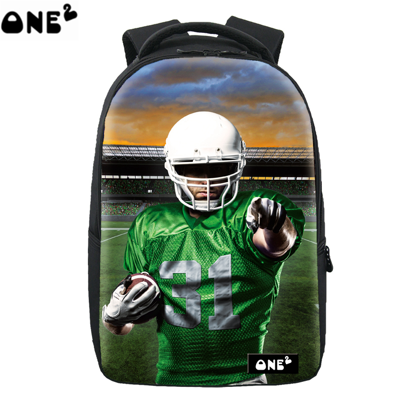 Sport America football ready school computer laptop backpack for school students