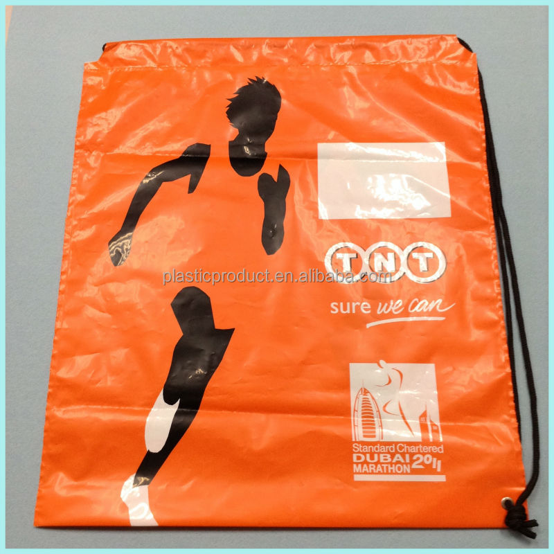 Reusable LDPE/HDPE Plastic Duffle Bag