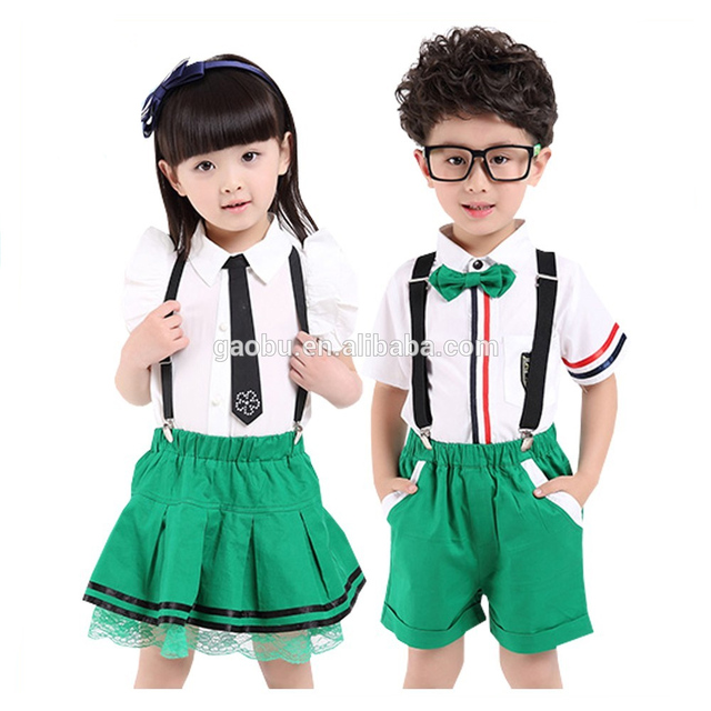 Hot Selling Casual Kids Clothes Uniforms Set