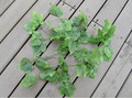 artificial big grape leaves vine