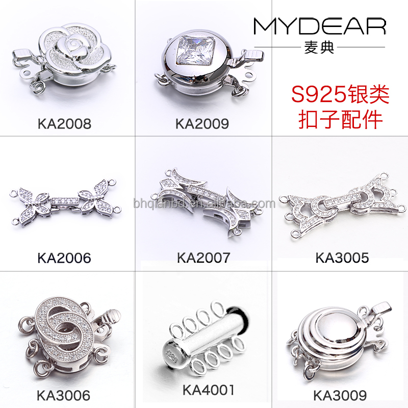 Latest accessory clasp/ DIY custom clasp for necklace and bracelet for women