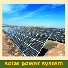 Commercial solar power solution 15KW grid-tie solar power system with easy solar energy installation