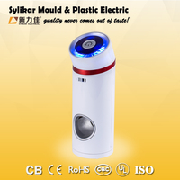 3W 12V mini car air purifier cleaner ionizer odor absorbing material electrostatic hepa filter price air freshener machine