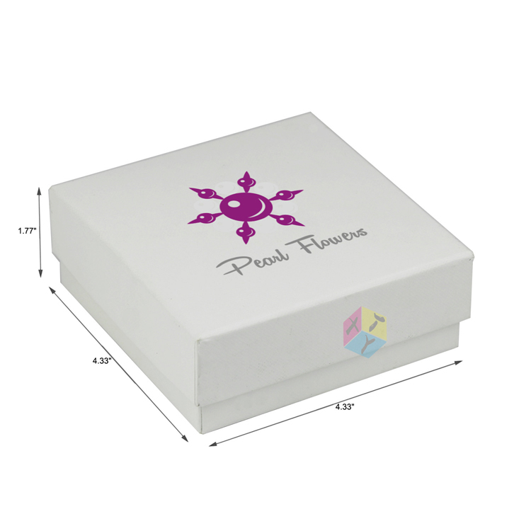 high quality simple white wedding dress candy box