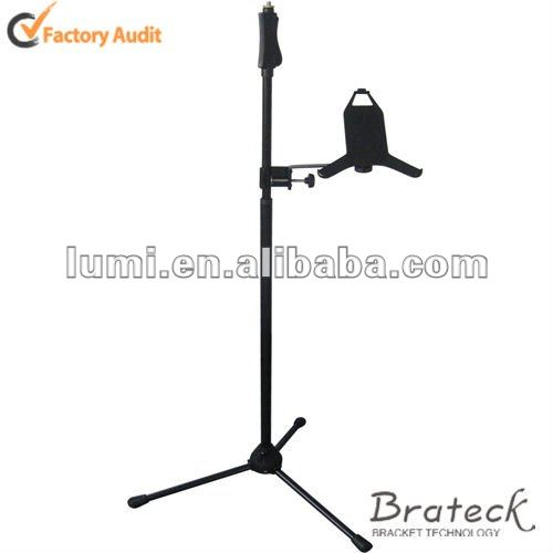 Adjustable Music Stand with Holder for ipad2