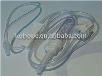 Infusion set with precise flow regulator