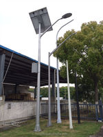 Solar panel FRP lighting pole-price list