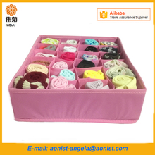 Collapsible Storage Boxes Bra Underwear Socks Ties Foldable Closet Container Organizer