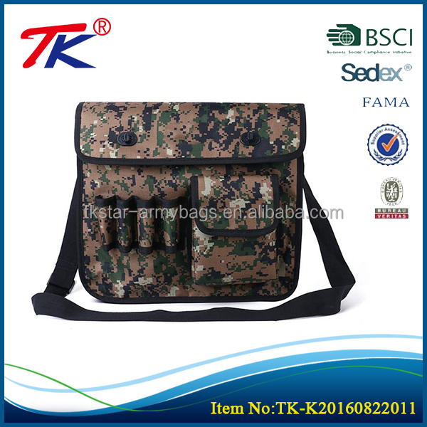Heavy duty multifunctional electrical hanging soft sided tool bag