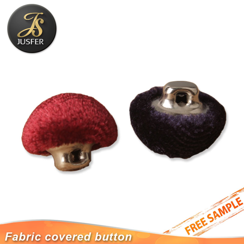 Hot Sale New Fabric Self Cover Button With The Shank Back