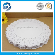 White Color Square Lace Paper Doilies