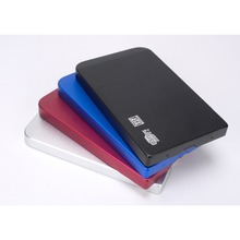 China Cheap Price 2.5 Inch USB 2.0 To SATA Hdd Enclosure Aluminum Portable External Hard Disk 1TB 2.5'' Hdd Case
