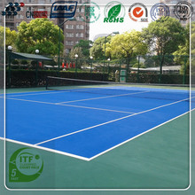 high strength badminton court rubber surface flooring with standard size