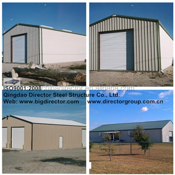 made in china light steel pre fabricated steel building