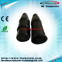 rf connector 3 pin 5 pin male XLR