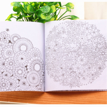Customized kids coloring book in offset printing