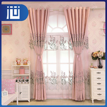 High quality elegant blackout polyester jacquard style embroidery designs for curtains