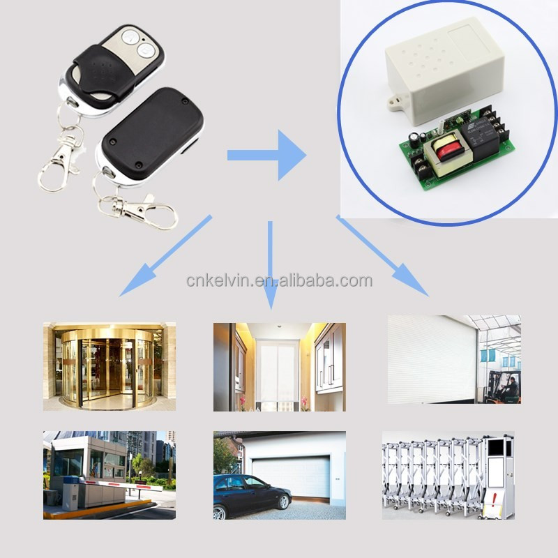 ASK/OOK Universal Use DC12V RF Wireless Keyfob Kl268