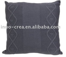 fashion knitted cushion